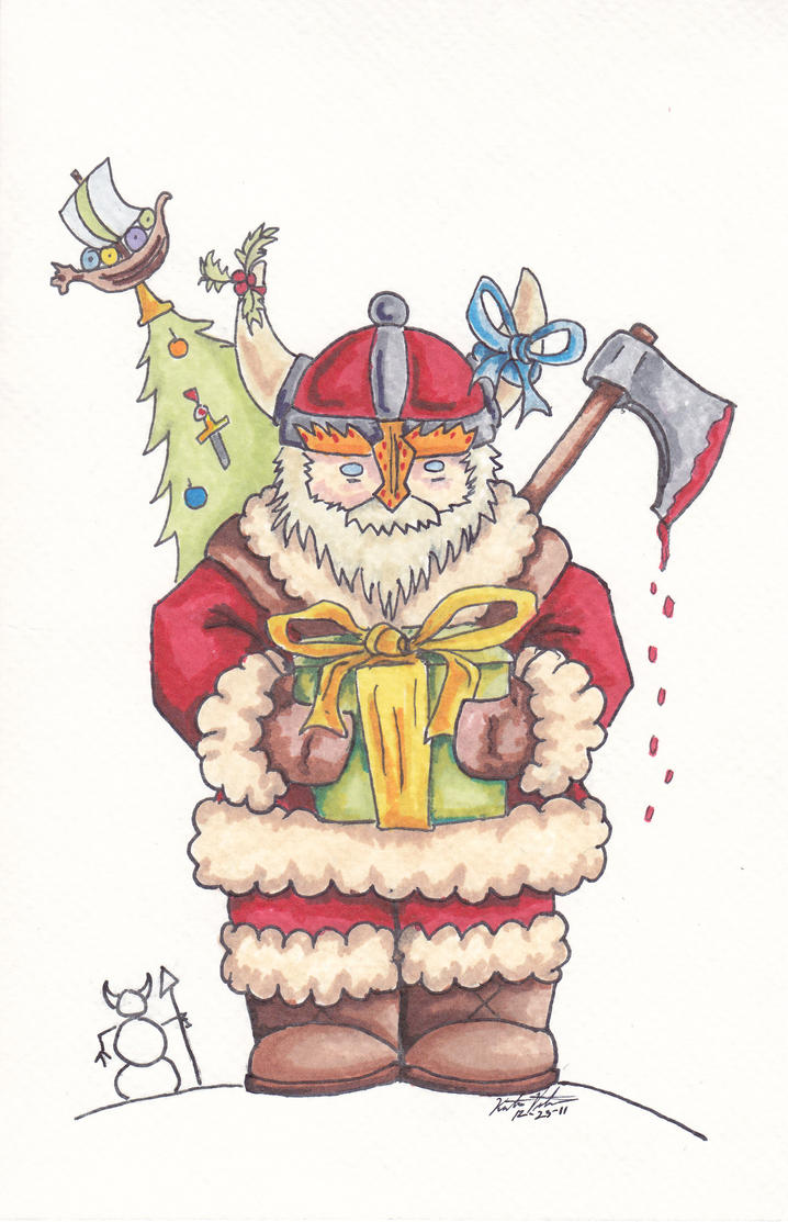 Big Damn Viking Christmas by DRD-1812 on DeviantArt
