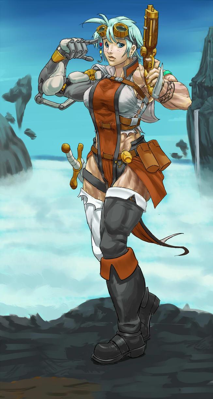 Gear Bolt sky pirate by Higalack
