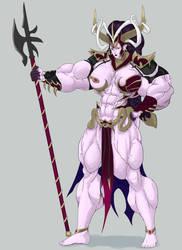 Warhammer Morathi Commision by Higalack