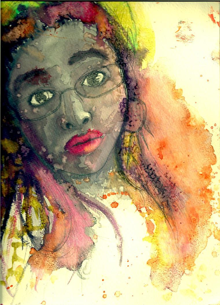 Com. Katelyn Portrait by DarkMewMewSun