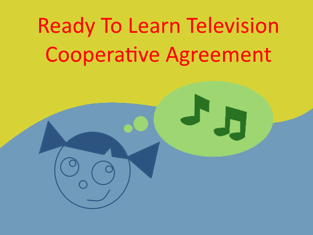 Ready To Learn Television Cooperative Agreement By Johnnykobayakawa