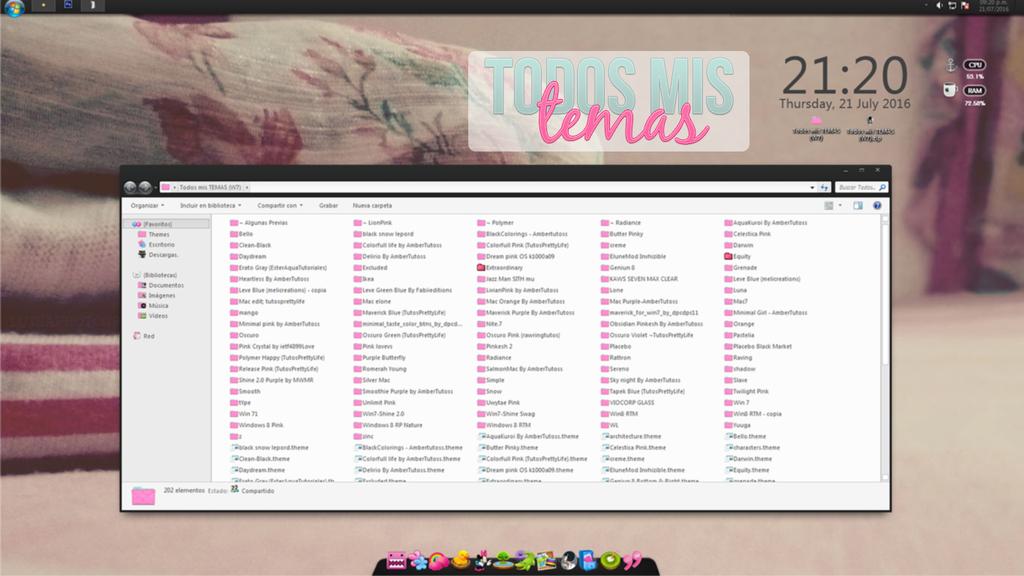 Todos mis Temas (Windows 7) by ecocreations