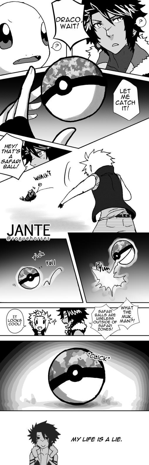 A Pretty Lame Pokem*n Adventure Manga by Rainwhisker-lover