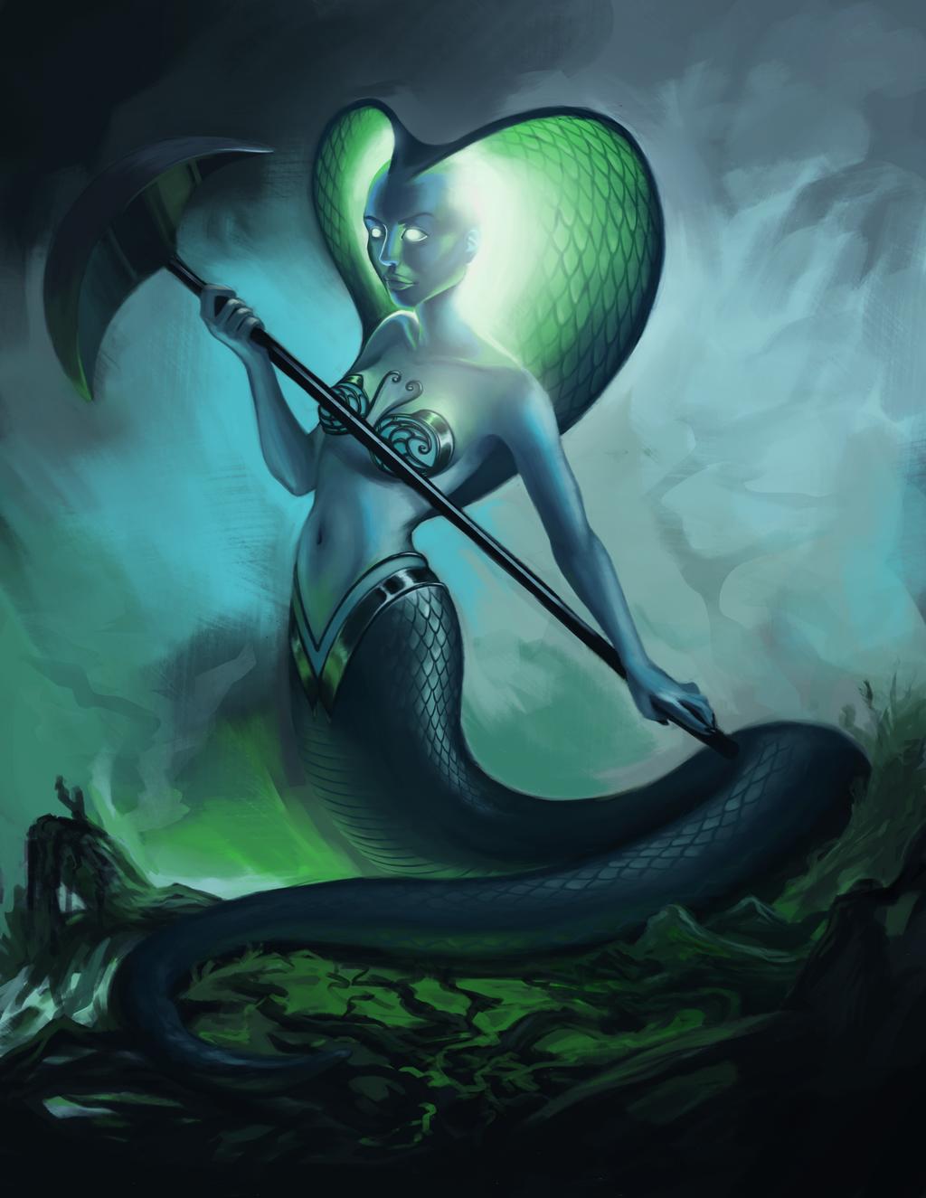Naga by sluggieart
