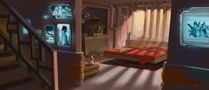 Bladerunner-esque Interior