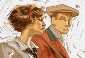 Day 14 - Leyendecker Study 2 by katyillustrates
