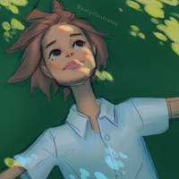 Day 25 - Daydreaming by katyillustrates