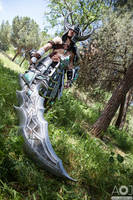 Tryndamere cosplay by PortgasDAceXx