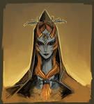 Legend of Zelda: Midna sketch