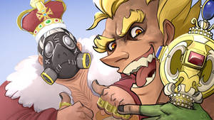 Overwatch: Junkers and the Crown Jewels by Atenovx