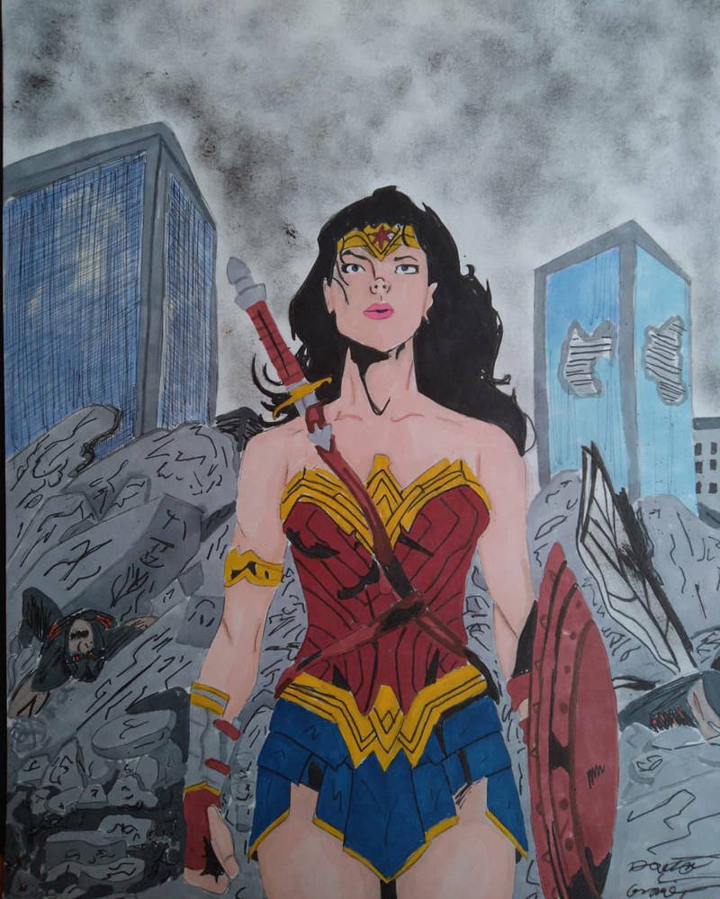 Wonder Woman Zack Snyder's Justice League