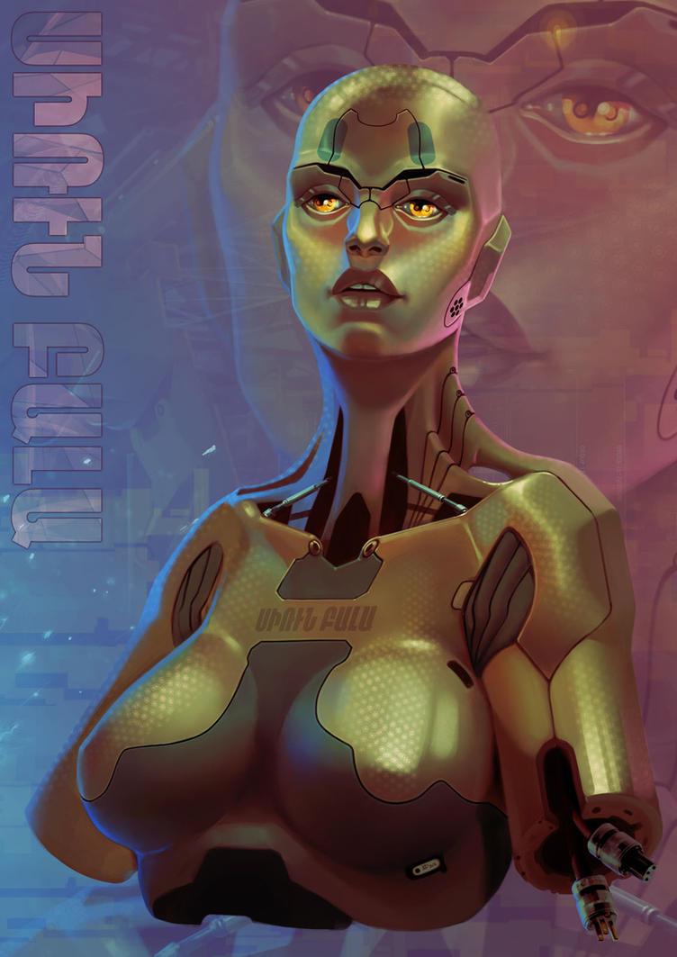 Cyber bust by I-GUYJIN-I