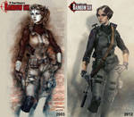 Specops girl (Rainbow 6) (before and after)