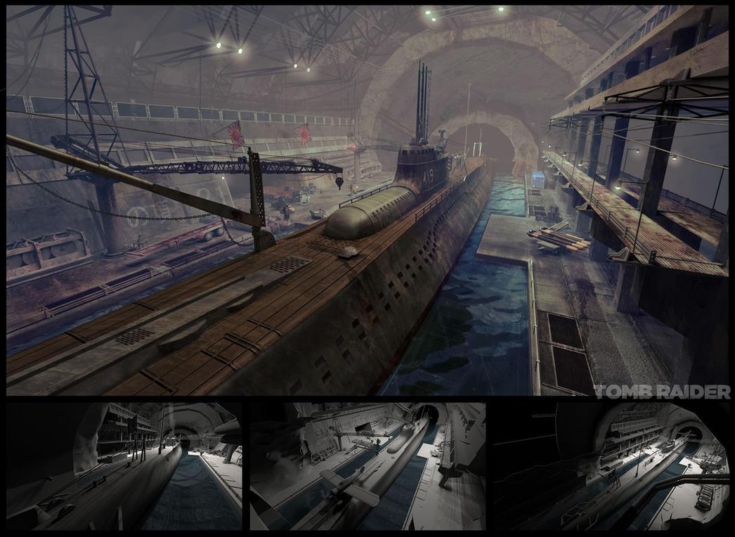 Submarine base by I-GUYJIN-I on DeviantArt