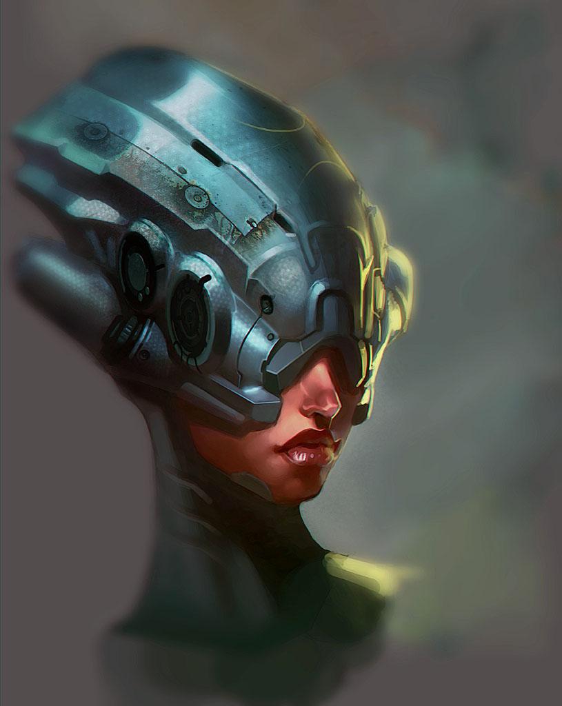 Bot Head Chick3 by I-GUYJIN-I