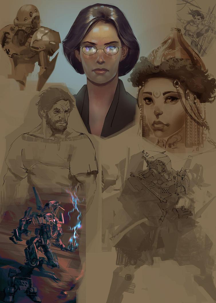 Sketchorama9 by I-GUYJIN-I