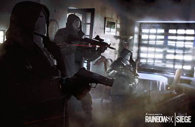 Rainbow Six Siege - promo poster