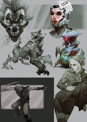 Sketchorama12 by I-GUYJIN-I