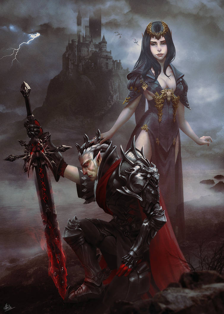 Elric and Cymoril