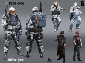 R6 Siege - Buck - elite