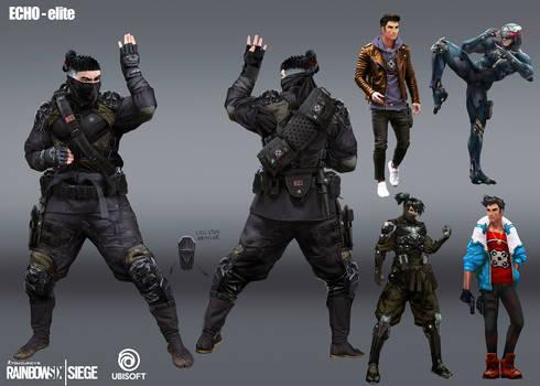 R6 Siege - Echo - elite