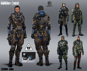 R6 Siege - Lesion - elite
