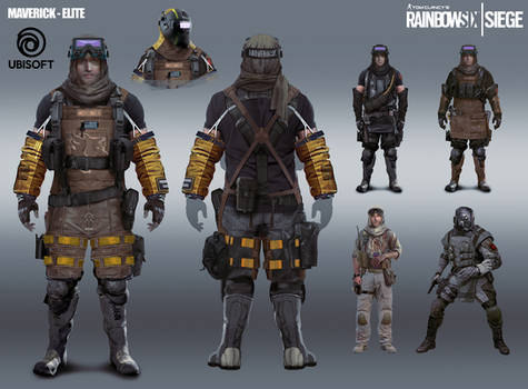 R6 Siege - Maverick - elite