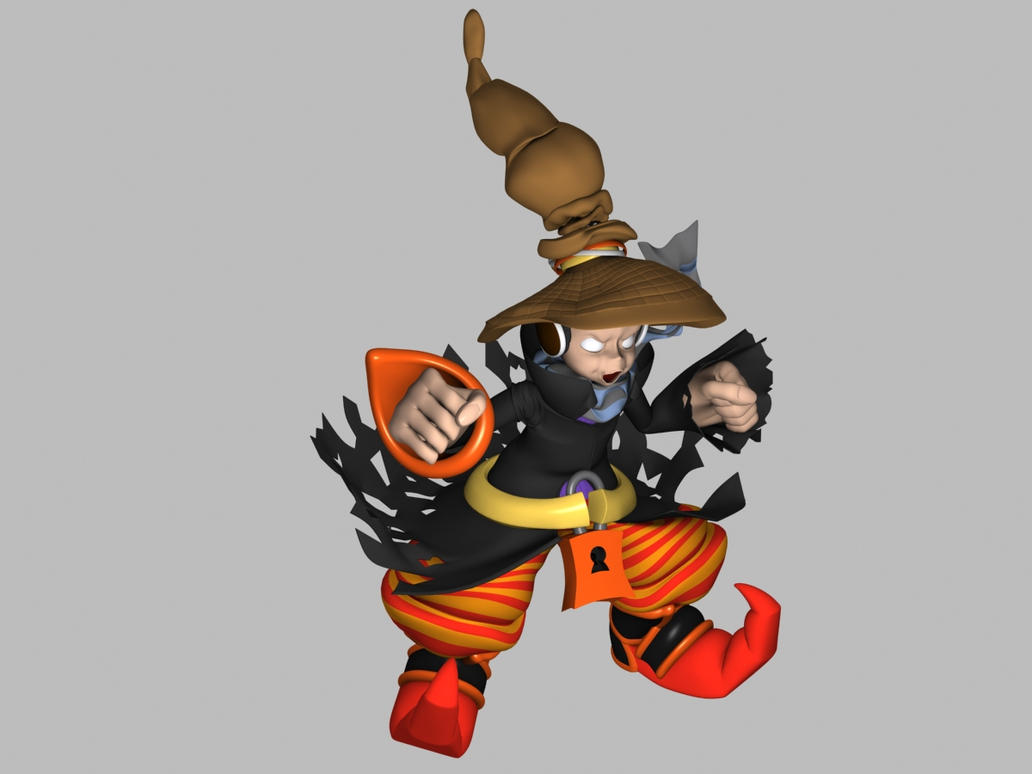 Cartoon Characters High : D model character cartoon high poly pose by nigeos on