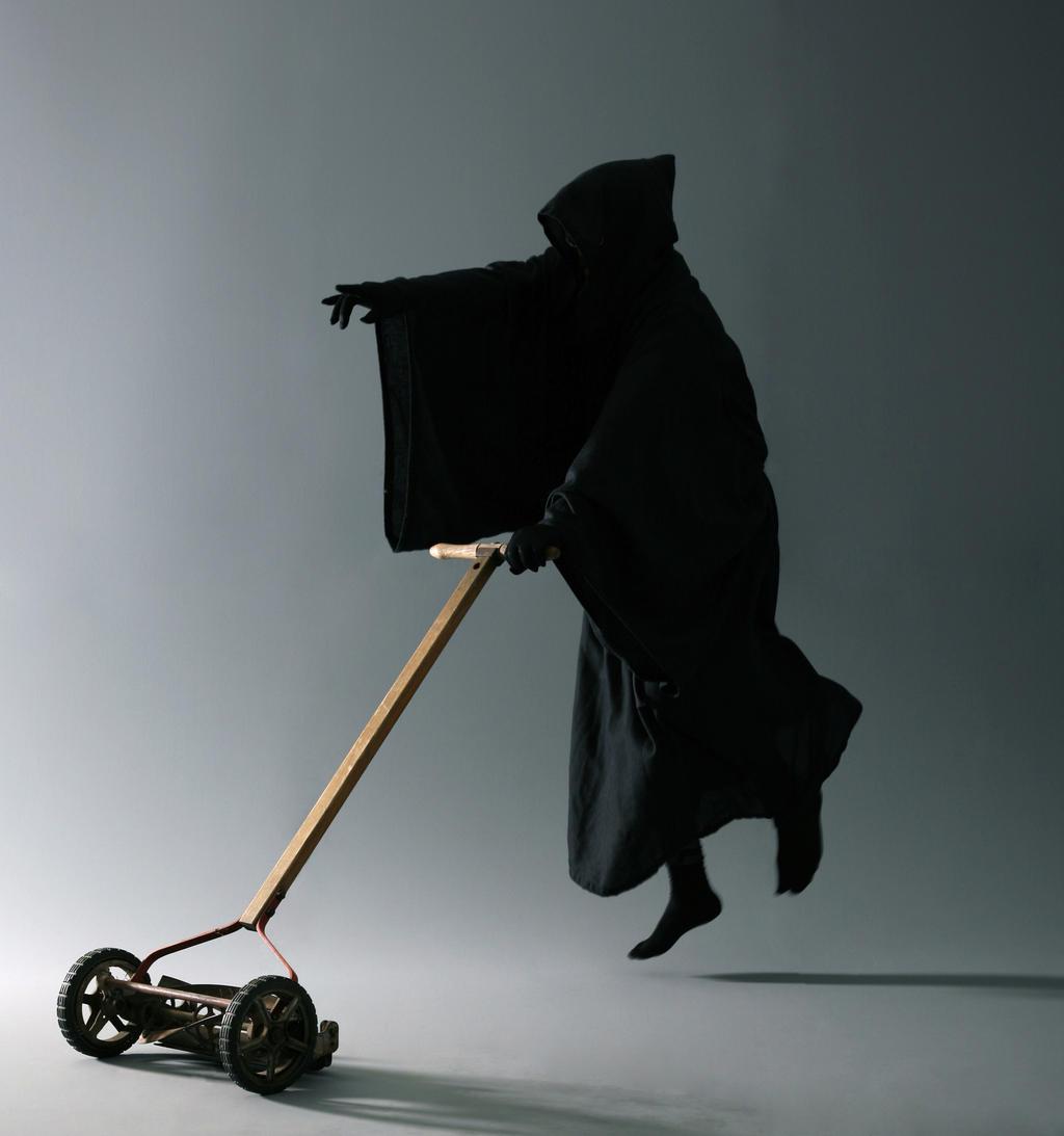 The Grim Mower by mjranum