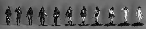 Deconstructed Ninja - Series by mjranum