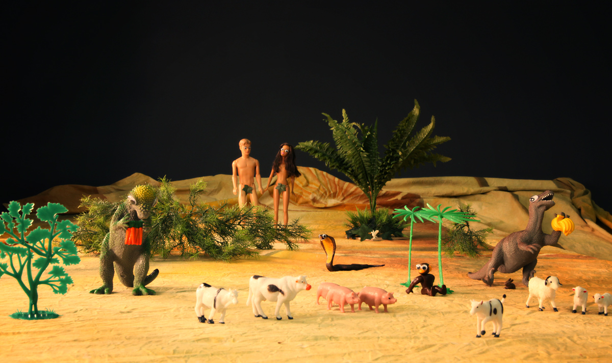 Teh Garden of Eden by mjranum