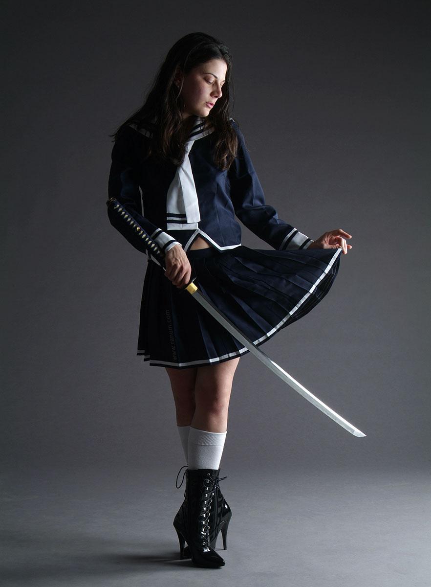 Samurai Schoolgirl