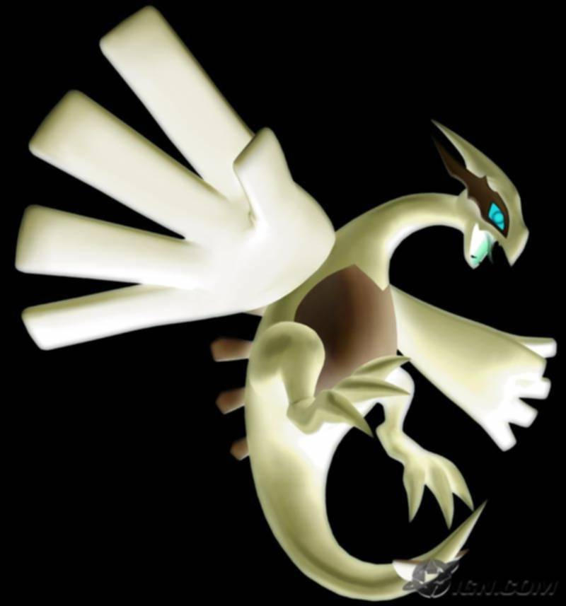 Inverted Shadow Lugia by NarakuAdam