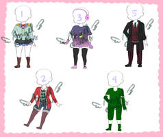 (4/5) Open 85p Clothes adopts