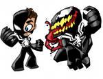 symbiote spider man and venom
