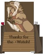 Thanks to my watchers! by AnimalArtKingdom