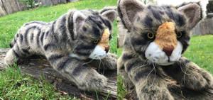 20in Brown Tabby Cat Plush