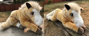 20in Custom Floppy Horse Plush by AnimalArtKingdom