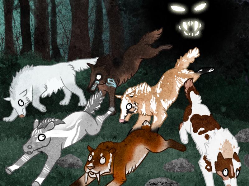 Spooky Night by AnimalArtKingdom