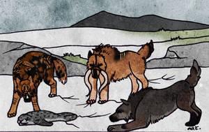 Hunt 1 by AnimalArtKingdom