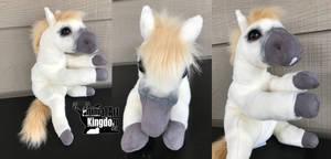 20in Custom Floppy Horse Plush