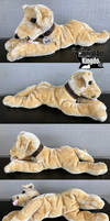 Bud the Golden Lab Floppy Plush