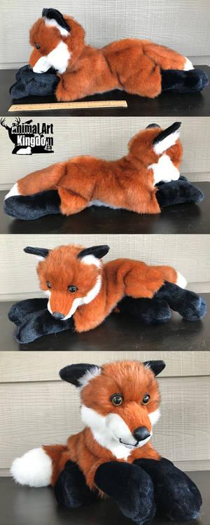 23in Red Fox Floppy Plush