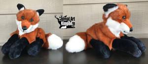 23in Red Fox Floppy Plush by AnimalArtKingdom