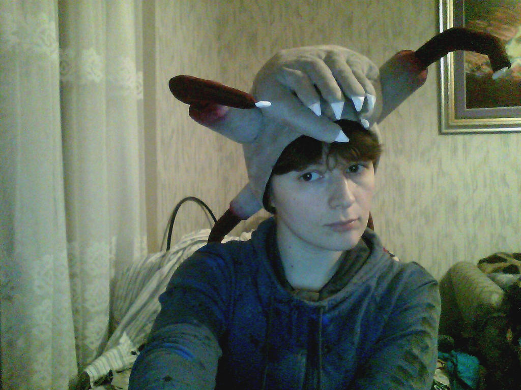 how to make a headcrab hat
