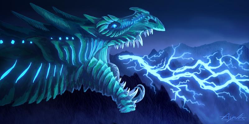 Lightning dragon - Contest entry