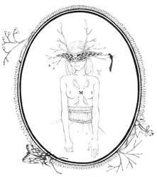 masked lady by moeranii