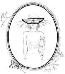 masked lady 5 by moeranii