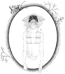 masked lady 6 by moeranii