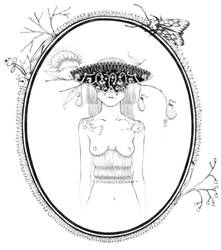 masked lady 8 by moeranii